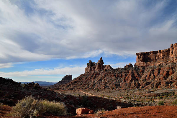 Photograph - Clouds Roll In Over Valley Of The Gods by Ray Mathis