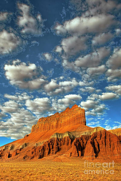 Photograph - Clouds Wild Horse Butte Goblin Valley Utah by Dave Welling