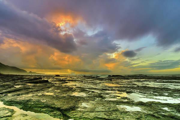 Taiwan Photograph - Cloudscape At Sea Side by Taiwan Nans0410