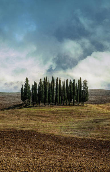Wall Art - Photograph - Cloudy Afternoon In Toscany by Jaroslaw Blaminsky