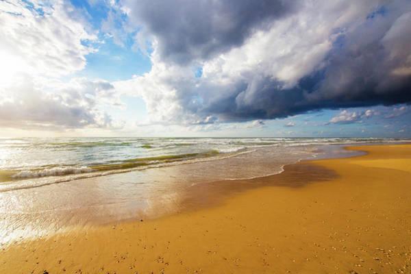 Wall Art - Photograph - Cloudy Beach by Veronika Limonov
