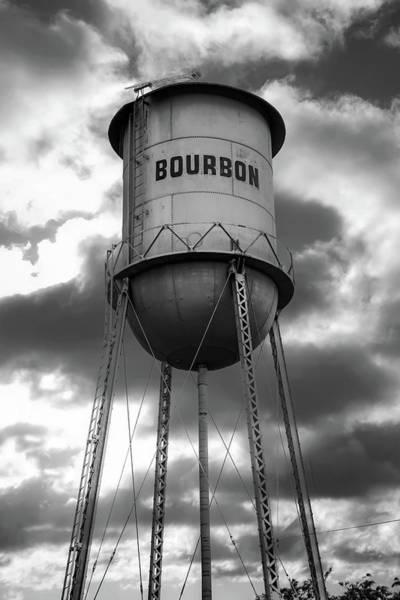 Photograph - Cloudy Bourbon Original - Monochrome Edition by Gregory Ballos