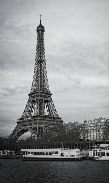 Photograph - Cloudy In Paris by Miguel Winterpacht