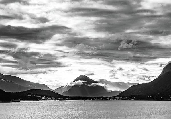 Photograph - Cloudy Mountain by Silvia Marcoschamer