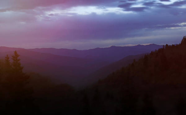 Photograph - Cloudy Smoky Mountain Morning by Dan Sproul