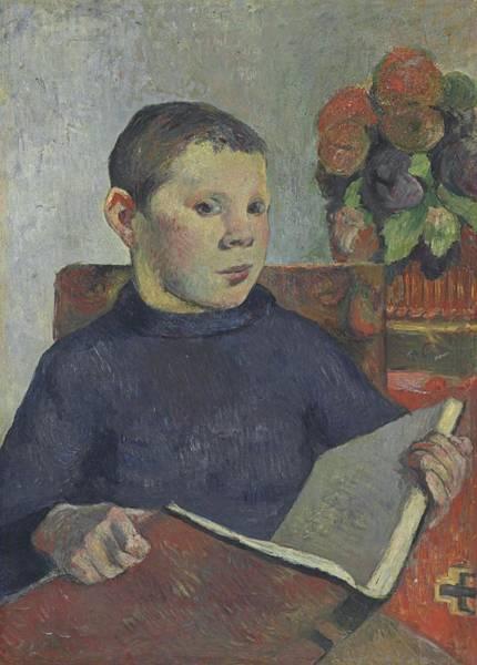 Clovis Painting - Clovis 1886 by Paul Gauguin