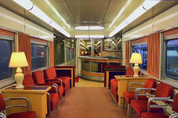 Wall Art - Photograph - Club Car - Passenger Train by Nikolyn McDonald