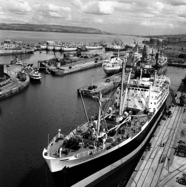 Clyde Photograph - Clydeside Port by Bert Hardy