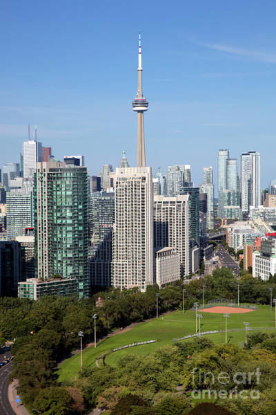 Wall Art - Photograph - Cn Tower And Coronation Park, Toronto, Ontario by Bill Cobb