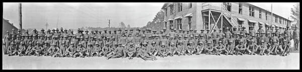 Wall Art - Photograph - Co. M. 371st Inf. Camp Jackson by Fred Schutz Collection