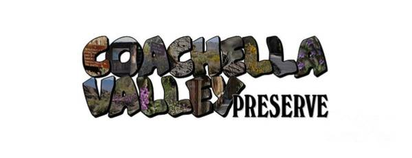 Photograph - Coachella Valley Preserve Big Letter by Colleen Cornelius