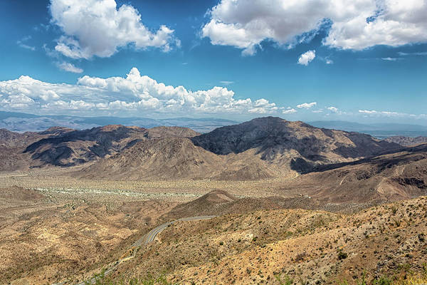 Photograph - Coachella Valley Vista Point by Alison Frank