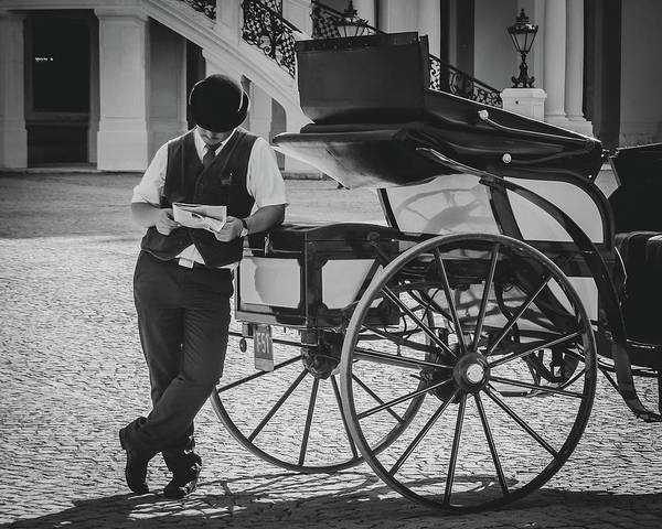 Art Print featuring the photograph Coachman's Pastime by Borja Robles