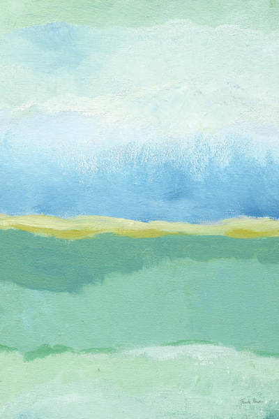 Wall Art - Painting - Coastal Bliss I Crop by Farida Zaman