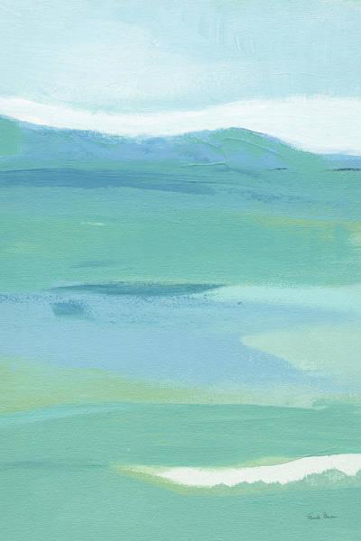 Wall Art - Painting - Coastal Bliss II Crop by Farida Zaman