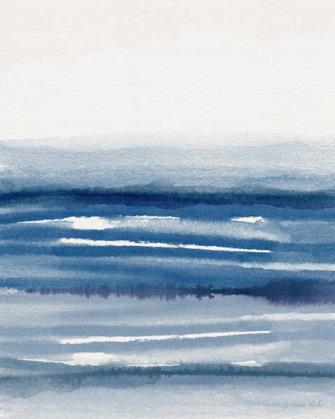 Painting - Coastal Calm Water 1- Art By Linda Woods by Linda Woods