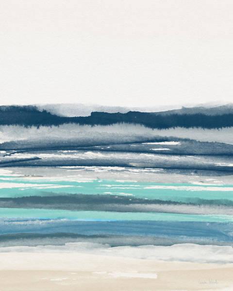 Painting - Coastal Calm Water 2- Art By Linda Woods by Linda Woods