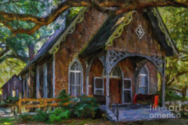 Photograph - Coastal Carolina Church - Mcclellanville South Carolina by Dale Powell