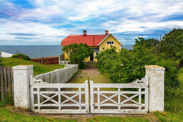 Photograph - Coastal Cottage At The Sea by Debra and Dave Vanderlaan
