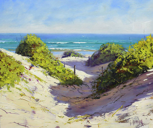Wall Art - Painting - Coastal Dunes by Graham Gercken