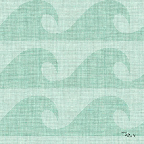 Wall Art - Painting - Coastal Farmhouse Pattern IIie by Pela Studio