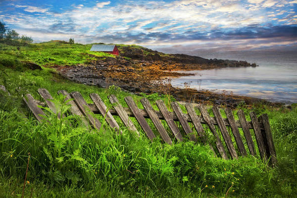 Wall Art - Photograph - Coastal Fences by Debra and Dave Vanderlaan