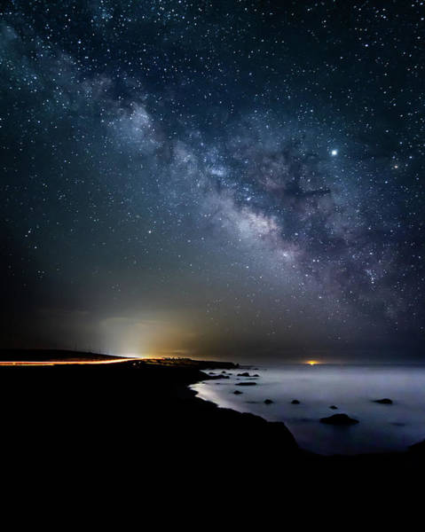 Photograph - Coastal Milky Way by Hayata Takeshita