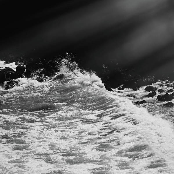 Photograph - Coastal Moment Iv by Anne Leven
