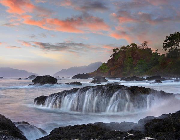 Photograph - Coastal Rocks, Roca Loca Point, Jaco by