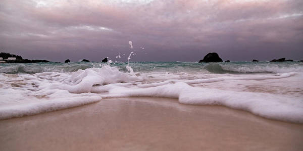 Wall Art - Photograph - Coastal Splash Intrigue Bermuda  by Betsy Knapp