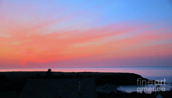 Wall Art - Photograph - Coastal Sunset  by Elaine Manley