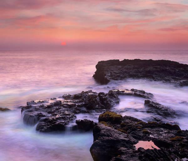 Photograph - Coastal Sunset, Puuhonua, Big Island by