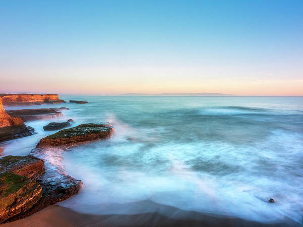 Wall Art - Photograph - Coastal Sunset by Steve Spiliotopoulos