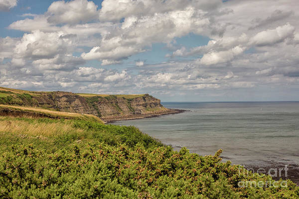 Wall Art - Photograph - Coastal View In Yorkshire by Patricia Hofmeester