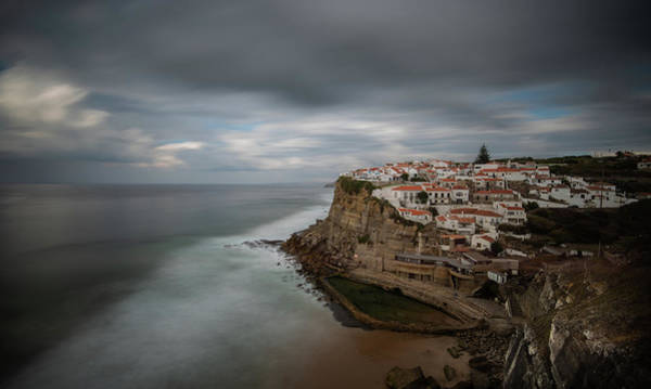 Outdoor Wall Art - Photograph - Coastal Village Of Azenhas Do Mar In Portugal by Michalakis Ppalis