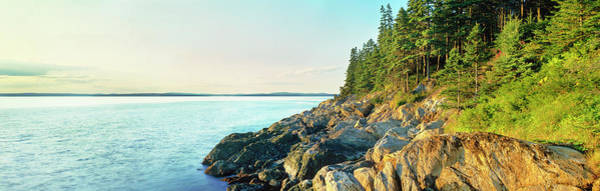 Wall Art - Photograph - Coastline, Acadia National Park, Maine by Panoramic Images