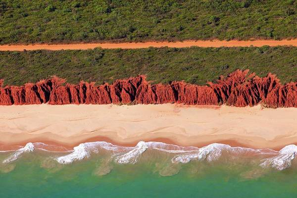Broome Photograph - Coastline At James Price Point, North by © Ingetje Tadros