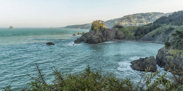 Photograph - Coastline Near Arch Rock In The Morning by Belinda Greb