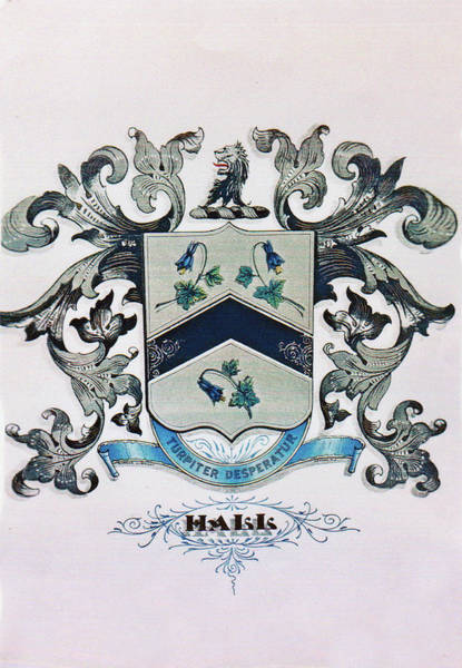 Photograph - Coat Of Arms - Hall by Angelcia Wright