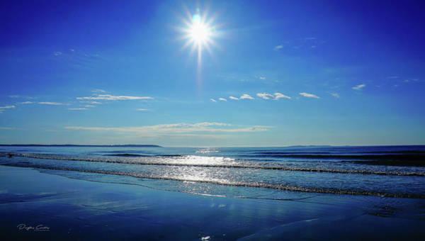 Orchard Beach Photograph - Cobalt Blue by Douglas Curtis