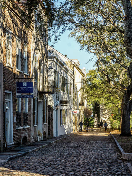 Photograph - Cobbled Street by Framing Places