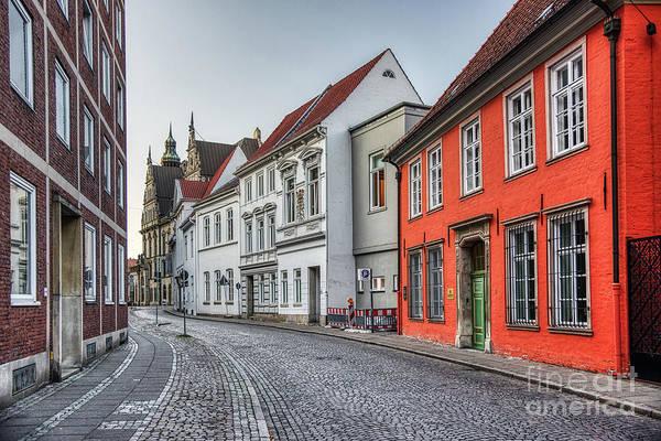 Bremen Wall Art - Photograph - Cobblestone Street by Paul Quinn
