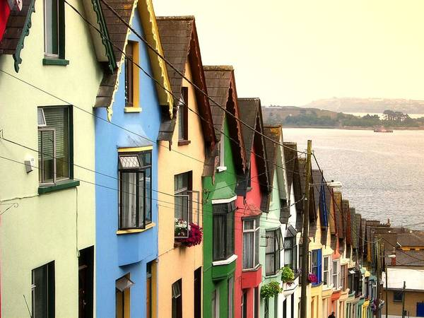 Side-by-side Photograph - Cobh, Cork by Photo By Natale Carioni