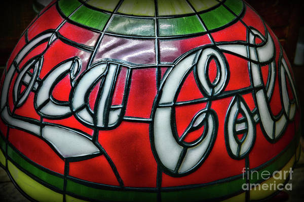 Wall Art - Photograph - Coca Cola Loves Tiffany  by Paul Ward