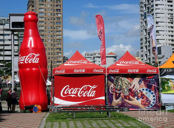 Photograph - Coca-cola Promotional Display Tent by Yali Shi