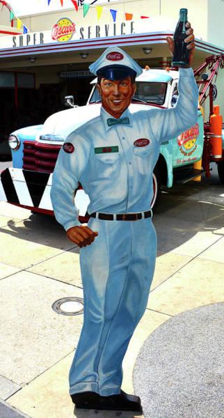 Wall Art - Photograph - Coca Cola Salesman 1950s by David Lee Thompson