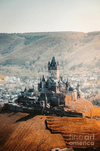 Wall Art - Photograph - Cochem Reichsburg Castle by JR Photography