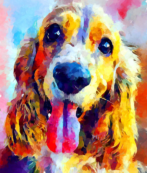 Cocker Spaniel Painting - Cocker Spaniel by Chris Butler