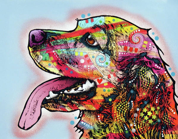 Wall Art - Painting - Cocker Spaniel by Dean Russo Art