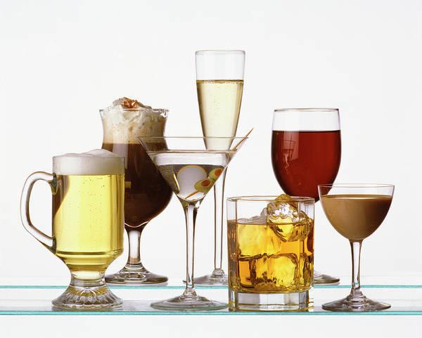 Cocktail Photograph - Cocktails by Jan Cobb Photography Ltd